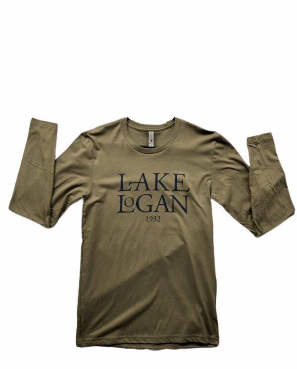 Long Sleeved Lake Logan 1932 T-Shirt